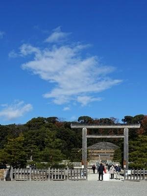桃山御陵正月参拝2101