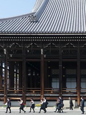 西本願寺ガイド研修2104