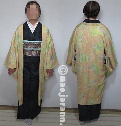 11-11大島紬×唐花帯04