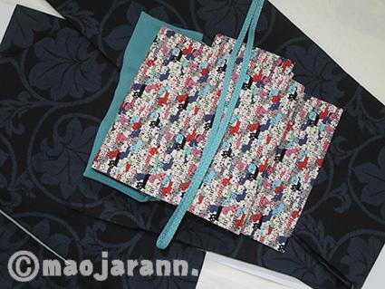 11-30大島紬×猫ぎっしり01