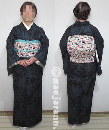11-30大島紬×猫ぎっしり03