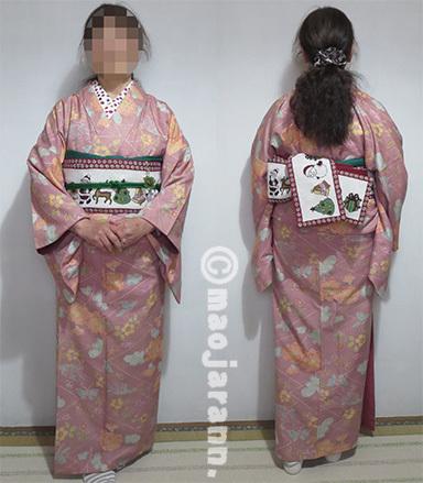 12-18染め紬×サンタ03