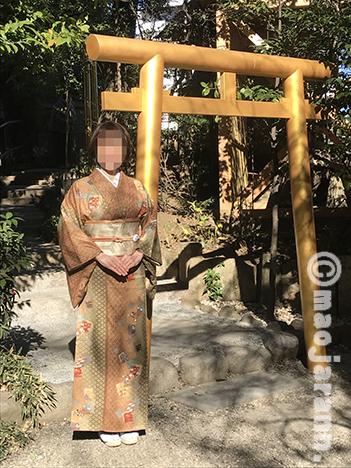 12-31美由紀&弥生暮参り01
