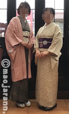 1-17美由紀&弥生レストラン05