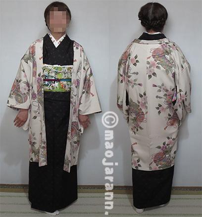 2-11水玉大島紬×ボッス04