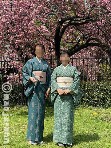 4-7美由紀&弥生お花見01