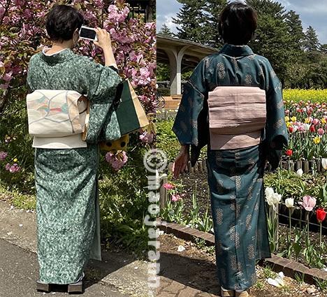 4-7美由紀&弥生お花見05