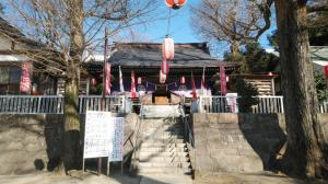 諏訪神社。