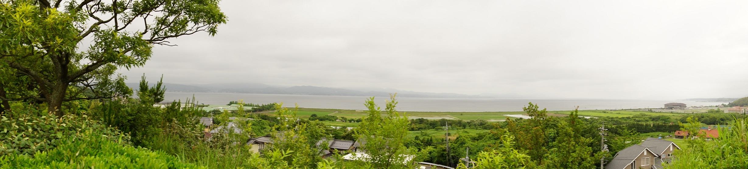 08_丘上から望む宍道湖