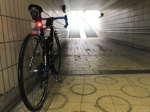 小雨日和の自転車通勤・1