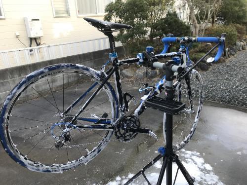 TCR1の洗車(2021)・9