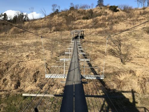 【万本桜の吊り橋】・8