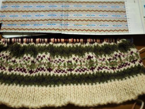 #初心者 #編み物 #棒針編み #Knit #sewing