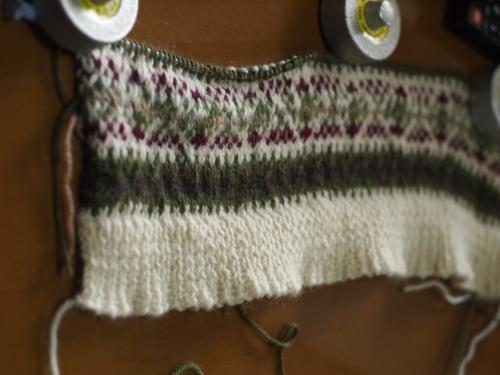 #初心者 #編み物 #棒針編み #Knit #sewing チョッキ