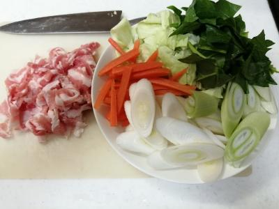 野菜たっぷり味噌ラーメン1