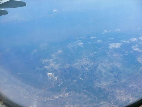 雫石南部-早池峰山遠望