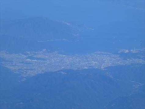 福井県敦賀市【スカイマーク機からの眺望】