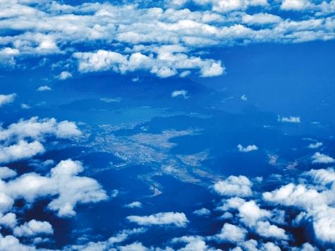福井県小浜市【スカイマーク機からの眺望】