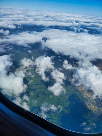 兵庫県丹波市【スカイマーク機からの眺望】