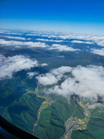 兵庫県【スカイマーク機からの眺望】