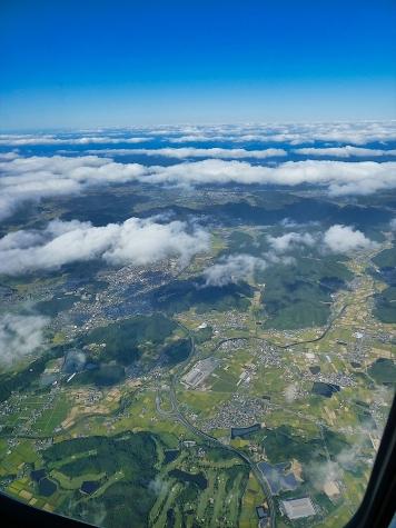 兵庫県加西市【スカイマーク機からの眺望】