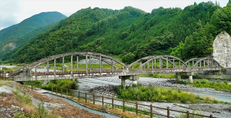 小渋橋【大鹿村大河原】