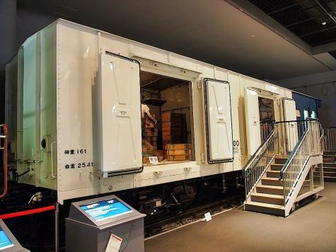 レムフ10000形 貨車【鉄道博物館】