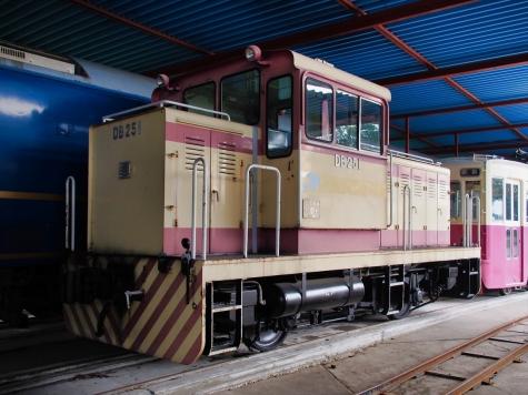 25トンB型液体式ディーゼル機関車【 那珂川清流鉄道保存会】