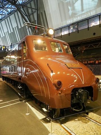 電気機関車 EF55 1【鉄道博物館】