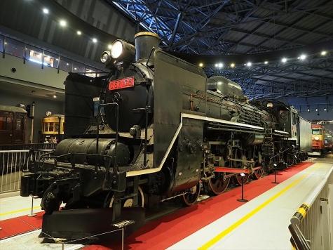 蒸気機関車 C57 135【鉄道博物館】