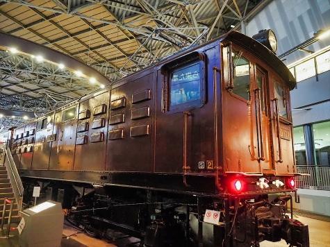電気機関車 ED17 1【鉄道博物館】