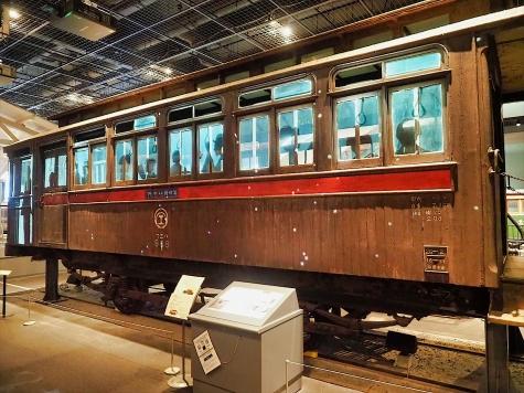 ハニフ1 客車(デ963)【鉄道博物館】