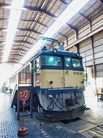 電気機関車 EF62 54【碓氷鉄道文化むら】