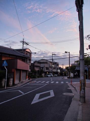 JR 山崎駅から阪急 大山崎駅へ