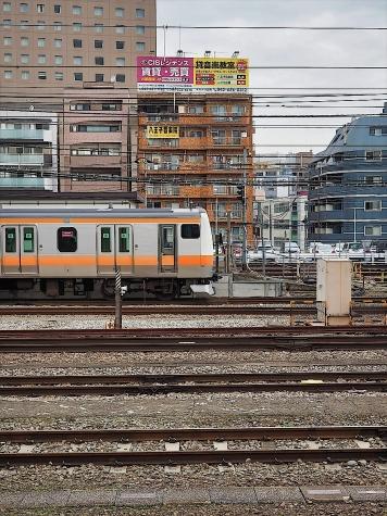 JR 中央線快速 E233系 電車【八王子駅】