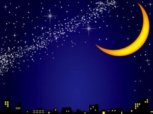 写真 深夜のお月様