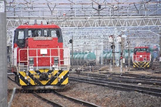 2020年2月8日撮影 南野津にてHD300-9号と10号機