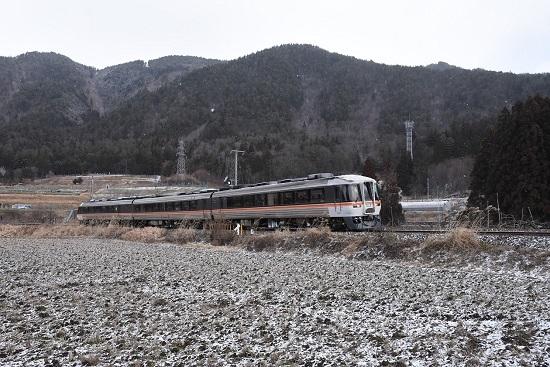 2020年2月9日撮影 1028D キハ85系 「WVひだ8号」