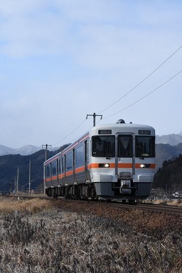 2020年2月9日撮影 高山本線 1854D キハ25形