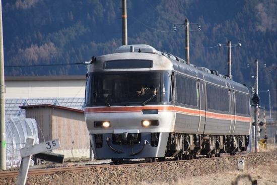 2020年2月9祖撮影 高山本線 1031D キハ85系 WVひだ31号