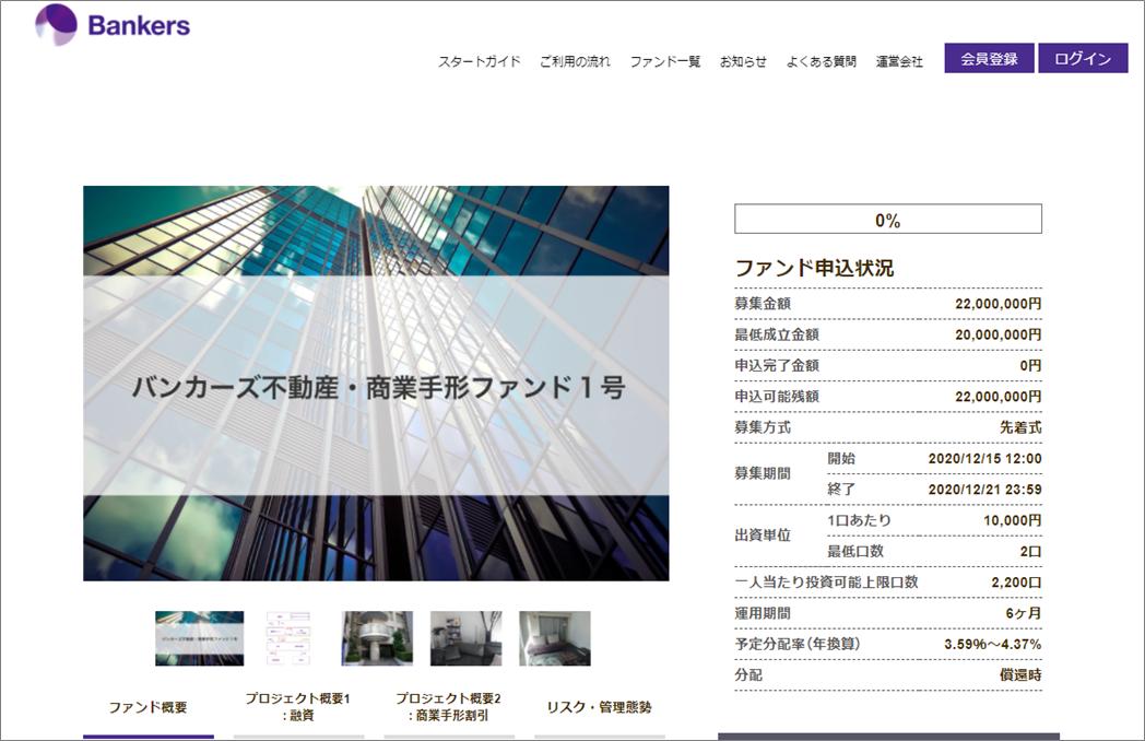 Bankersamazonギフト券500円1号案件