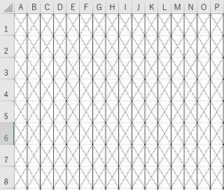 カード織りデザインシート