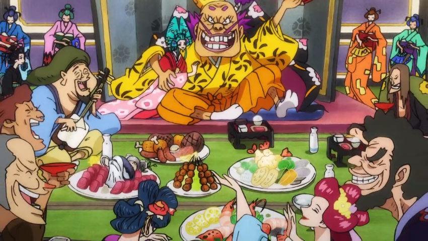 ワンピース アニメ オロチ 宴