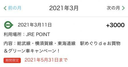 JRE POINT_2021②