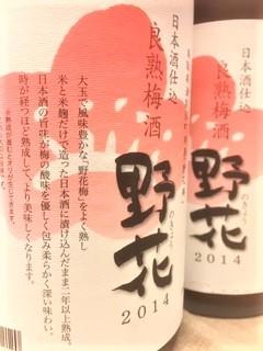 20201016野花梅酒