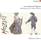 """バベット・ドルン """"Le nozze di Figaro""""Romance on the Piano(GENUIN)"""