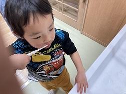 ぺんぎん組 歯磨き (1)