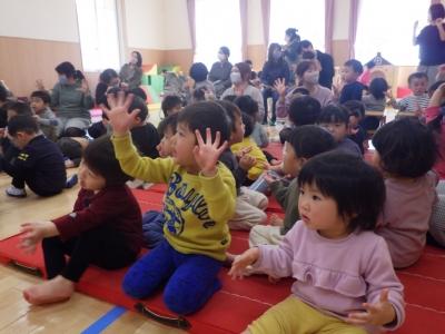 3月誕生会・お楽しみ会②