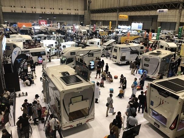 東京キャンピングカーショー2020 in幕張メッセ (2)
