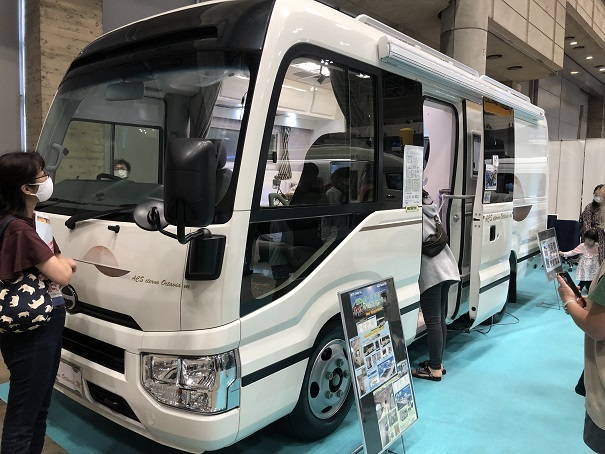 東京キャンピングカーショー2020 in幕張メッセ (10)